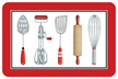 Kitchen Tools Mat