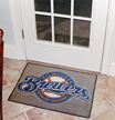 THE Mat for A True Fan! MilwaukeeBrewers.