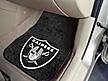 Logo Fan Mat Oakland Raiders