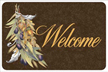 Olive Acorn Welcome Mat