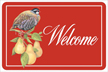 Patridge Welcome Mat