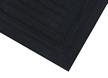 Linkable Grit Corner Tile Mat With Black Border