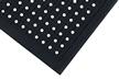 Slip-Resistant Interlocking Corner Tile Mat With Holes