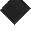 Hog Heaven Mat With Grit, Linkable End Piece
