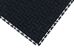 Anti-Fatigue Interlocking Middle Grit Tile Without Holes