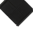 Slip-Resistant Linkable Mat With Grit, Middle Piece