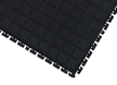 Linkable Middle Tile Anti-Fatigue Mat Without Border