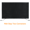 Melt Step Mat With Two Connectors