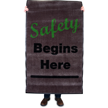Safety Begins Here Safety Message Mat