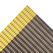 2' x 40' - Safety Grid Mat - Black/Yellow (in Rolls)