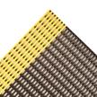 4' x 4' - Safety Grid Mat - Black/Yellow