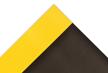 3' x 3' - Switchboard Matting - Black/Yellow