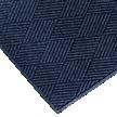 WaterHog Fashion Diamond Scraper Mat With Fabric Border