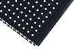 Welding Safe Interlocking Side Tile Grit Floor Mat
