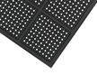 Comfort Flow Workstation Mat with Grit & Holes