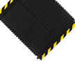 Hog Heaven Striped Border Linkable Mat, Middle Piece