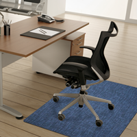 Desk Chair Mat in Place