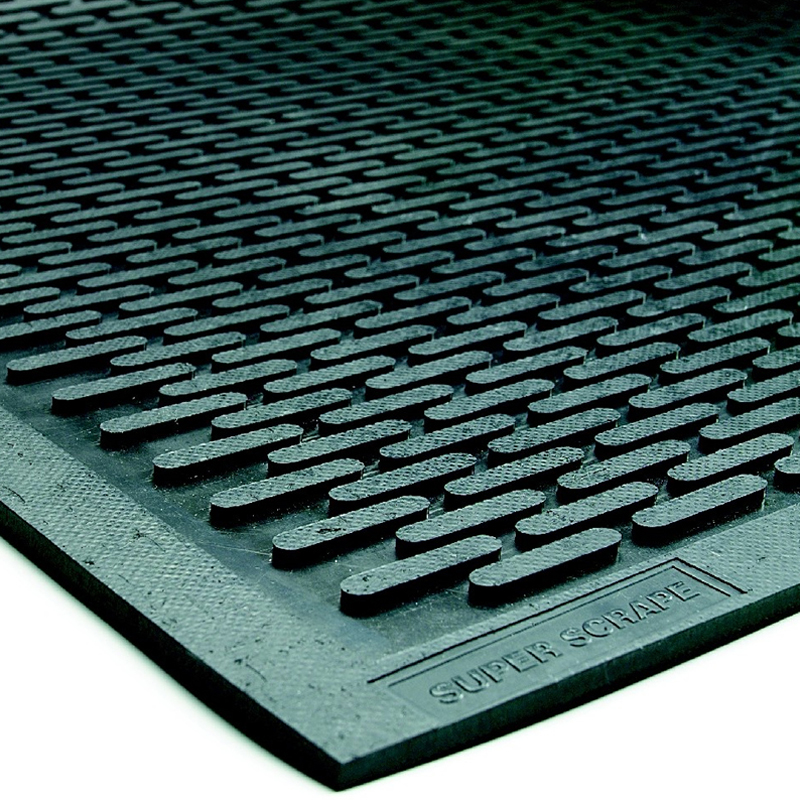 Superscrape Oval Traction Mats Scrape Off Dirt Oil And